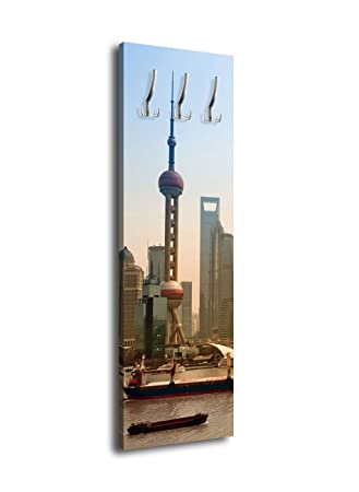 wandmotiv24 Perchero con diseño Shanghai Oriental Pearl ...