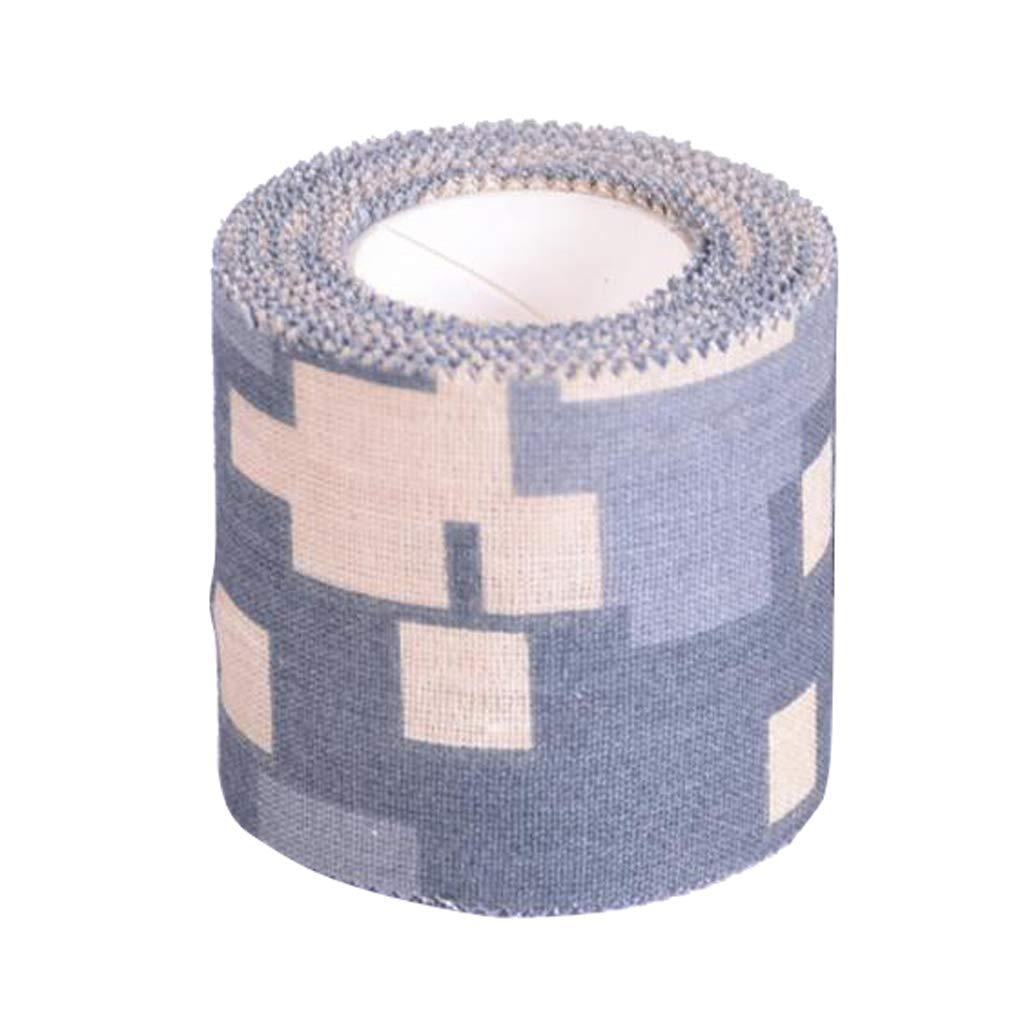 Baoblaze Camouflage Sport Tape Tapeverband Gewebeband selbsthaftende Bandage Sportbandage