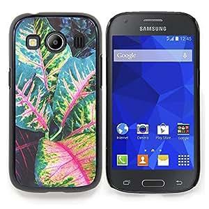 "Planetar ( Líneas Patrón Zig Zaf Blanco Oro"" ) Samsung Galaxy Ace Style LTE/ G357 Fundas Cover Cubre Hard Case Cover"
