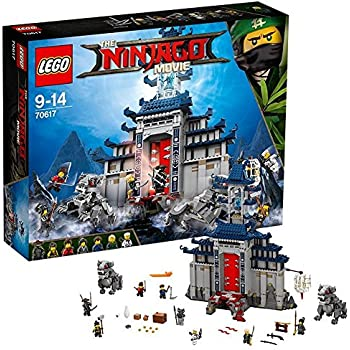 LEGO Ninjago Movie Temple of The Ultimate Weapon 1403pcs Age 9-14 (70617)