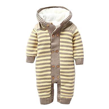 Amazon Com Free Fisher Baby Boys Girls Romper Toddler Winter One