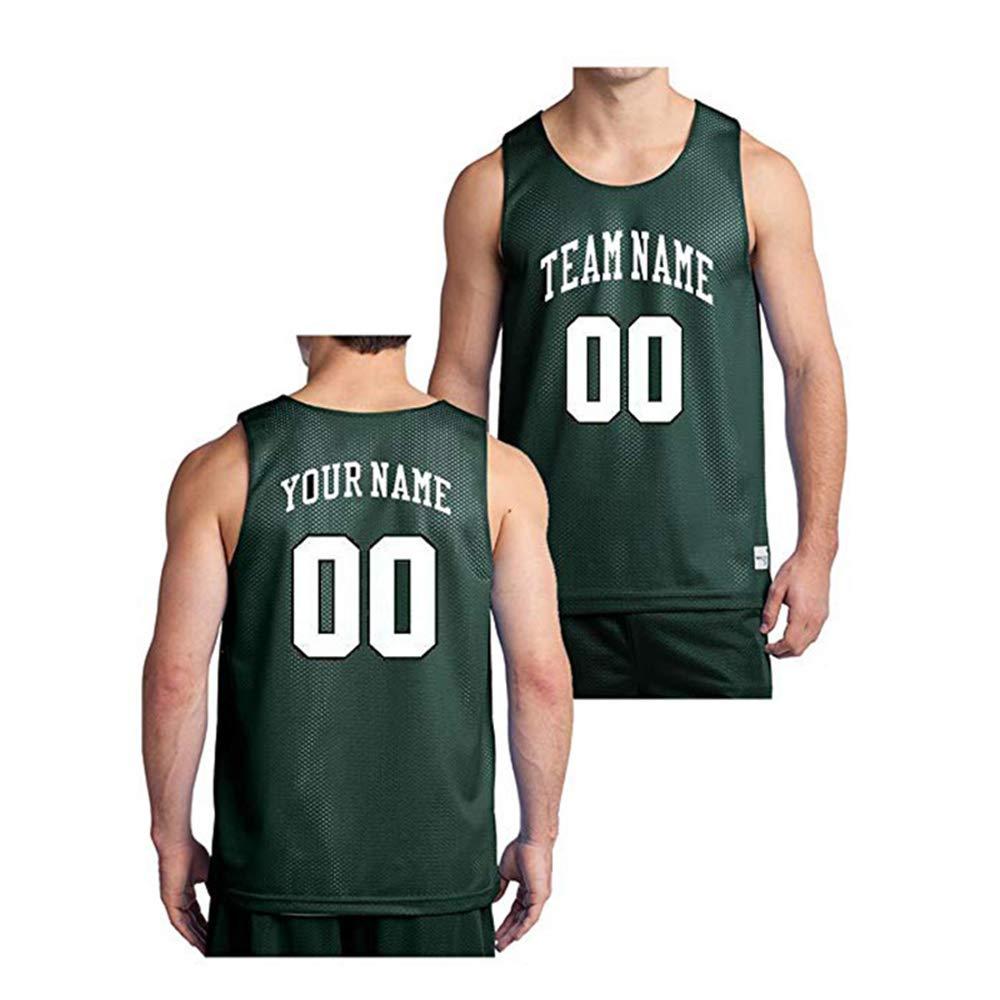 QimeiJer - Camiseta de Baloncesto para Hombre y Mujer, Men ...