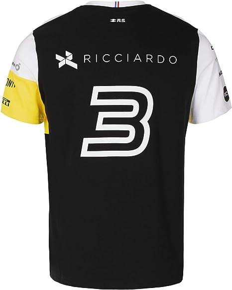 Renault F1 Team Taille : M T-Shirt Homme I Drive Cars Fast Gris Chin/é Daniel Ricciardo