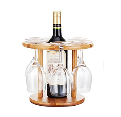 Estantería de vino Estante de vidrio de vino, titular de vidrio de vino estante,
