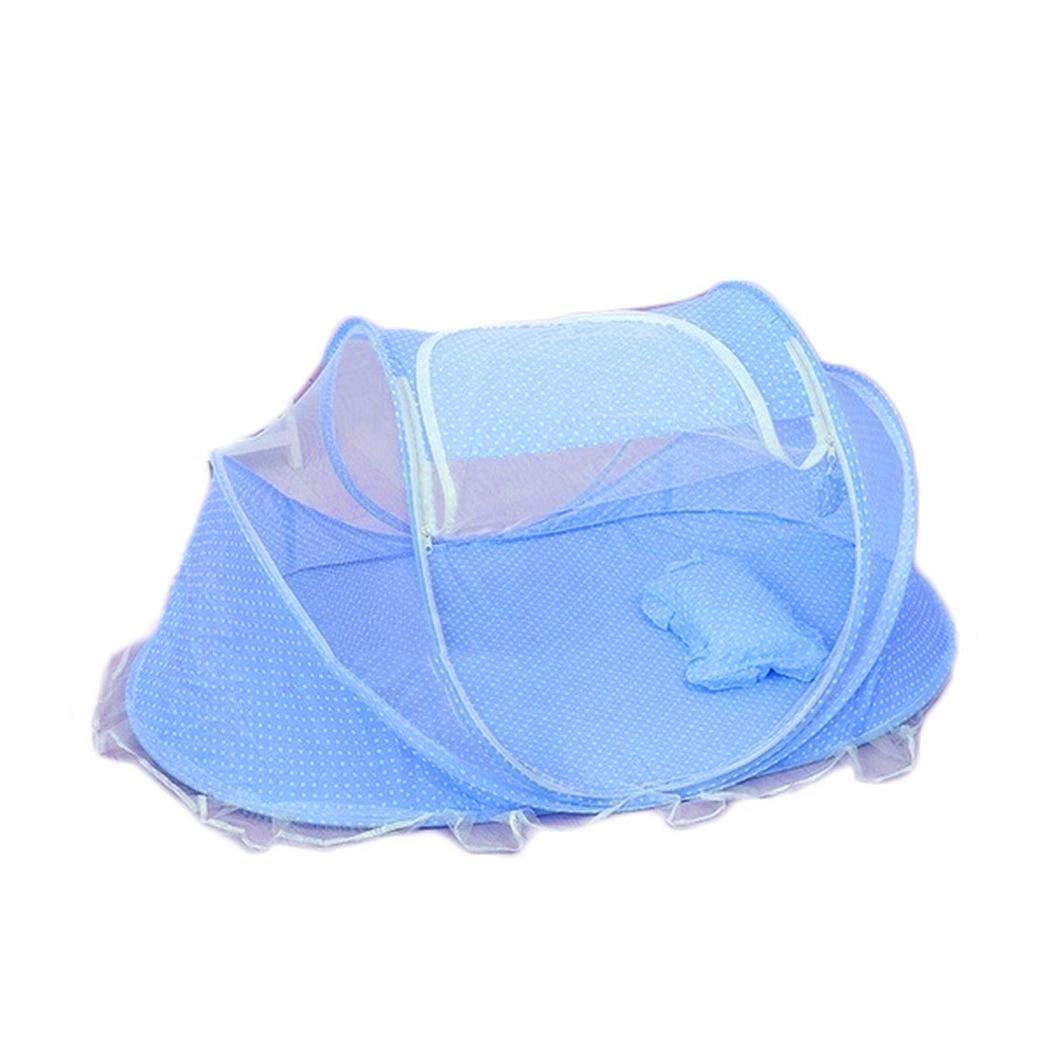 Ladiy Portable Folding Solid Zipper Closure Mosquito Net Set