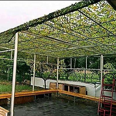 Red De Camuflaje Reforzado De PoliéSter Cubierta Red De Camuflaje del Arbolado Disparo Camping Persianas De Caza LZPQ: Amazon.es: Jardín