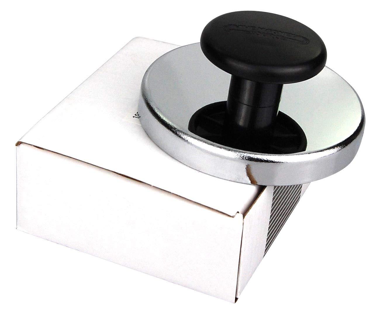 Kühlschrank Universalgriff : Magnet mit chromblende und knauf griff bis 11 kg durchmesser 51 mm