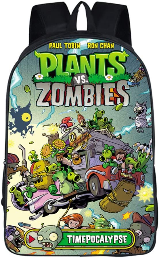 Gumstyle Plants vs. Zombies Backpack Shouder School Bag for Children 2