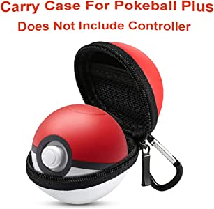 Pokeball Plus Case RuiM - Funda de Transporte Compatible con ...