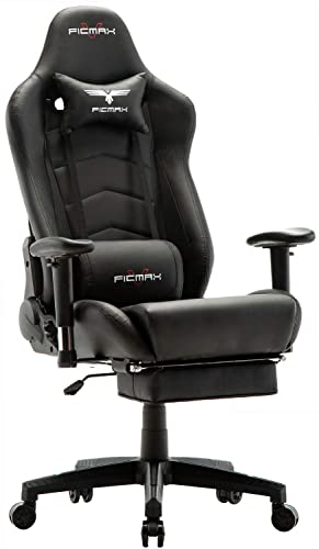 Ficmax Massage Gaming Chair High Back Gamer Chair