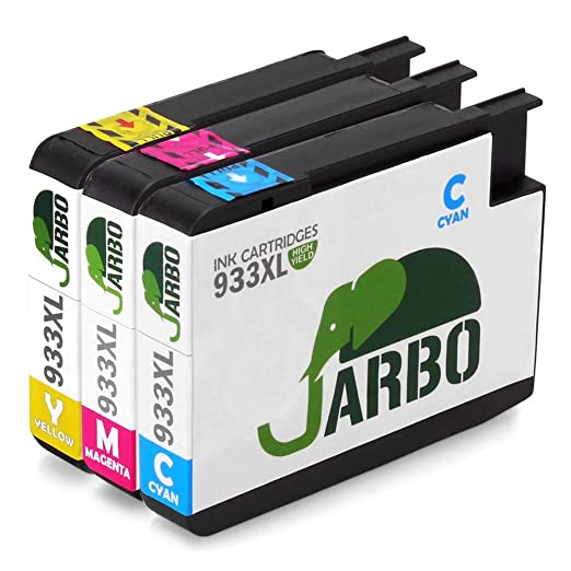 127 opinioni per JARBO Compatibile HP 932XL 933XL Cartucce d'inchiostro (1 Ciano,1 Magenta,1