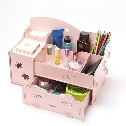 Estuche de cosméticos Colorido DIY Mesa de almacenamiento de ...