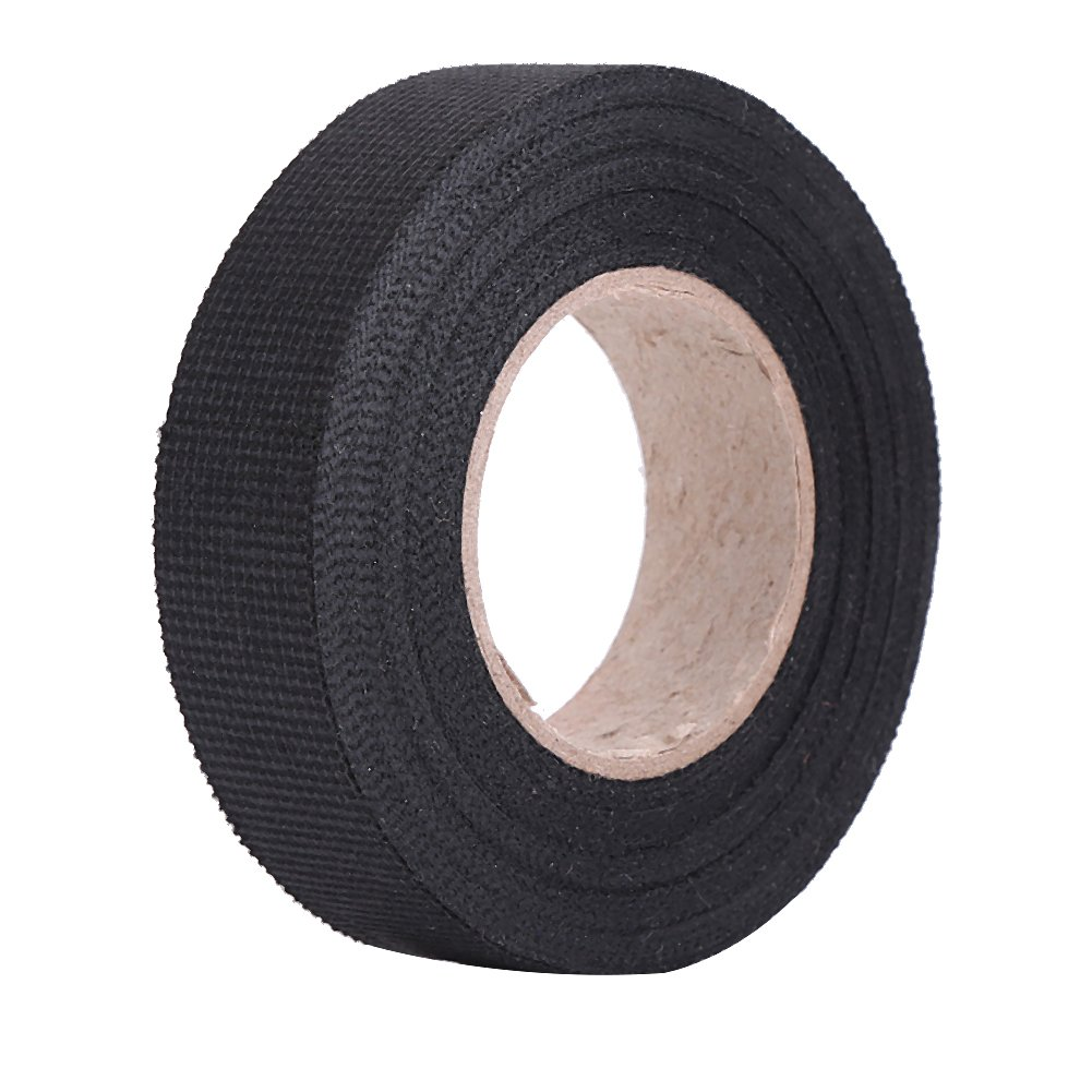 Amazon.com: Estink Insulation Tape Black,High Temperature Resistant Automotive  Wiring Harness Tape Car Electrical Self Adhesive Anti Squeak Tape for ...