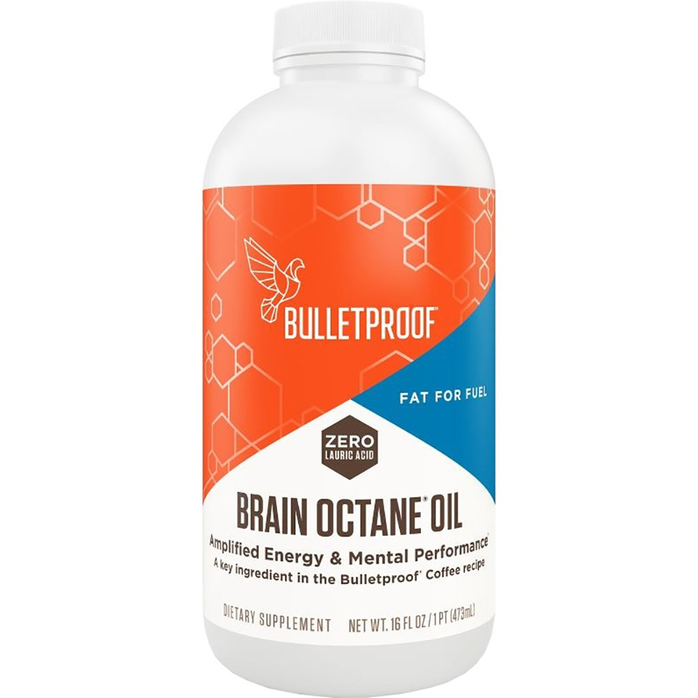 Bulletproof Brain Octane Oil, Reliable and Quick Source of Energy (16 Ounces)