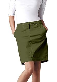 80d1de3de3b Modamix Women s Plus Size High Waisted Scuba Flare Skirt at Amazon ...