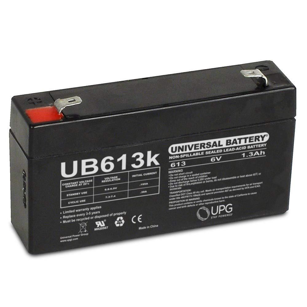 6V 1.3Ah BACKUP BATTERY LEOCH DJW6-1.2 T1 F1 6V1.3AH 6V1.4AH 6V1.2AH LP6-1.3 Universal Power Group SP6-1.2
