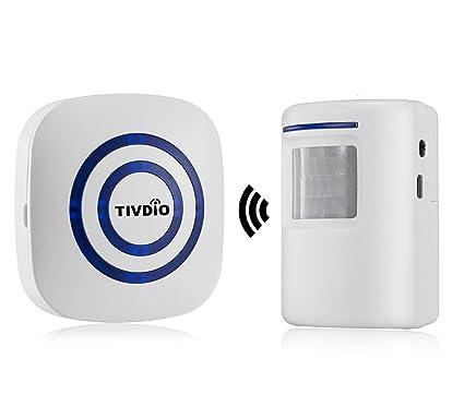 tivdio T-801 wirelless Detector de movimiento (PIR) Sensor para puerta para Negocio