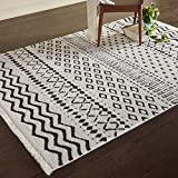 Rivet Contemporary Geometric Rug, 7' 3