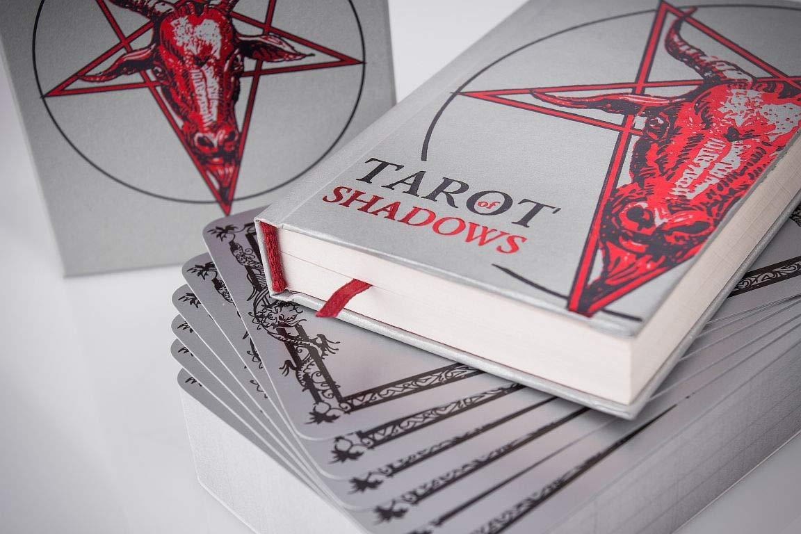 SLVR TRT Tarot Shadows Sklyarova Silver Trim + Book Gift Set with Box Easter Gift by SLVR TRT (Image #3)