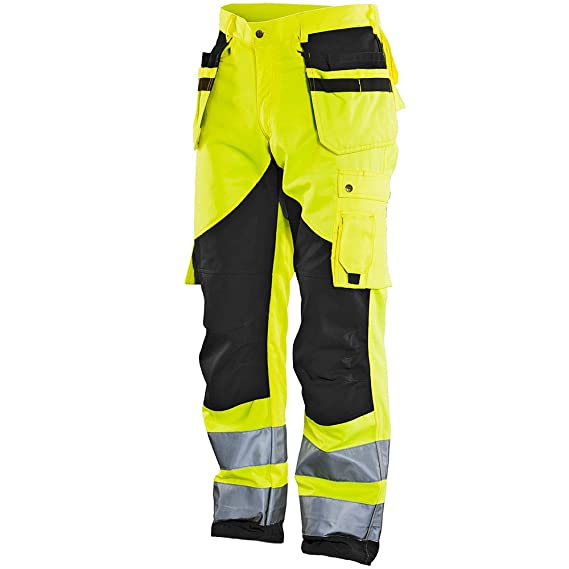 JOBMAN Workwear Men's Heavy Duty Hi-VIS Workpants: Amazon.co.uk: DIY & Tools