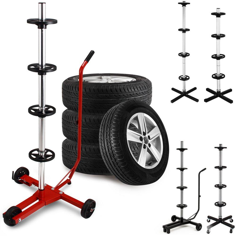 Deuba Rims Tree Tyre Trolley Miscellaneous
