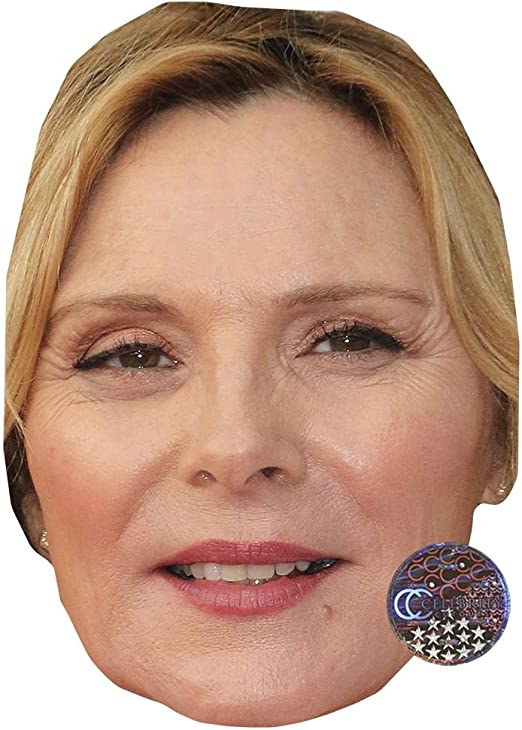 Flat Card Face Fiorello Celebrity Mask Fancy Dress Mask