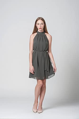 490914bbbf8 Amazon.com  Olive Green Summer Mini Dress