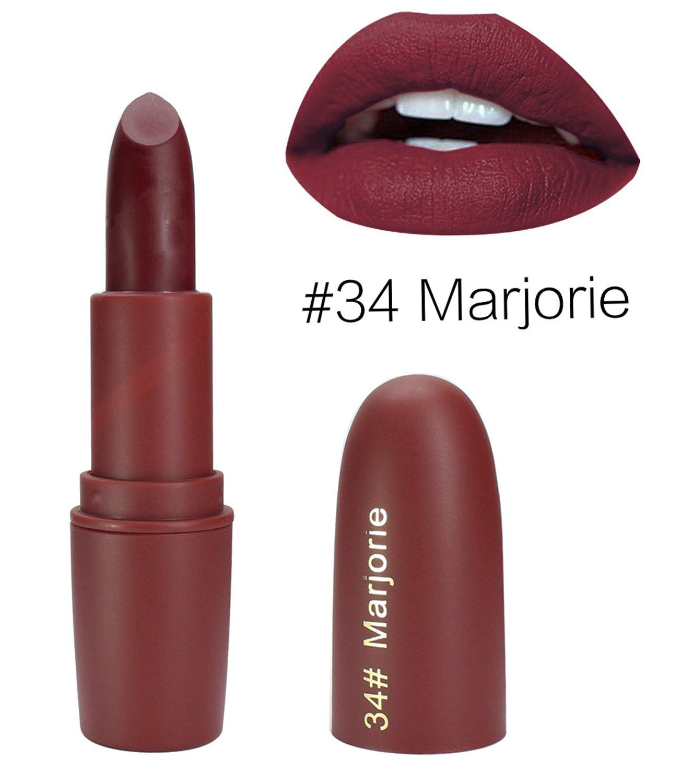 ALIVER Matte Lipsticks Perfect Vivid Lipsticks Long Lasting Makeup Lip sticks 7 Colors