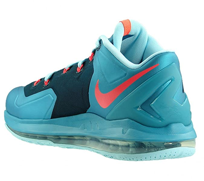 Amazon.com | Nike Mens Max Lebron XI Low, TURBO GREEN/NGHTSHADE-GLACIER ICE-LASER CRIMSON, 10.5 M US | Basketball