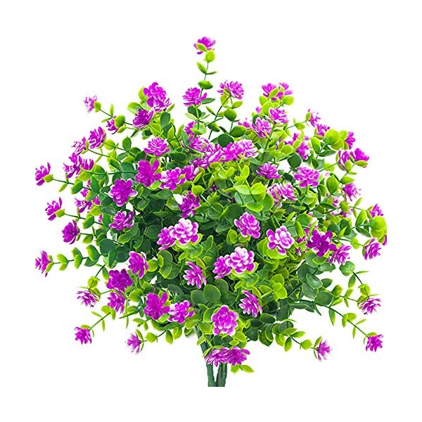 YISNUO-Artificial-Flowers-Fake-Outdoor-UV-Resistant-Plants-Faux-Plastic-Greenery-Shrubs-Indoor-Outside-Hanging-Planter-Home-Kitchen-Office-Wedding-Garden-decor