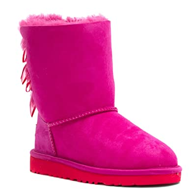pink uggs with bows womens
