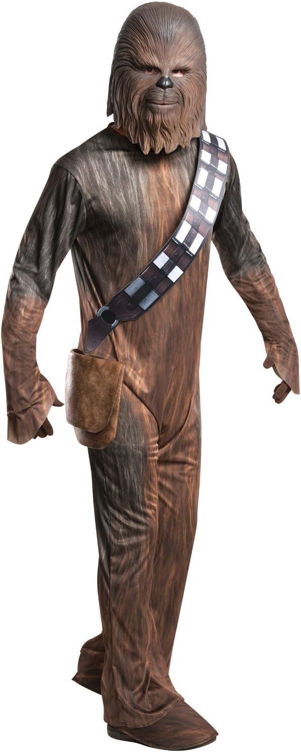 Star Wars - Disfraz de Chewbacca para hombre, Talla única adulto ...