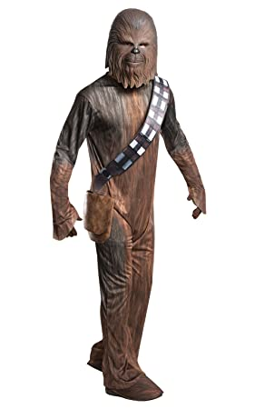 Rubies Disfraz oficial de Star Wars de Disney, Chewbacca para adulto