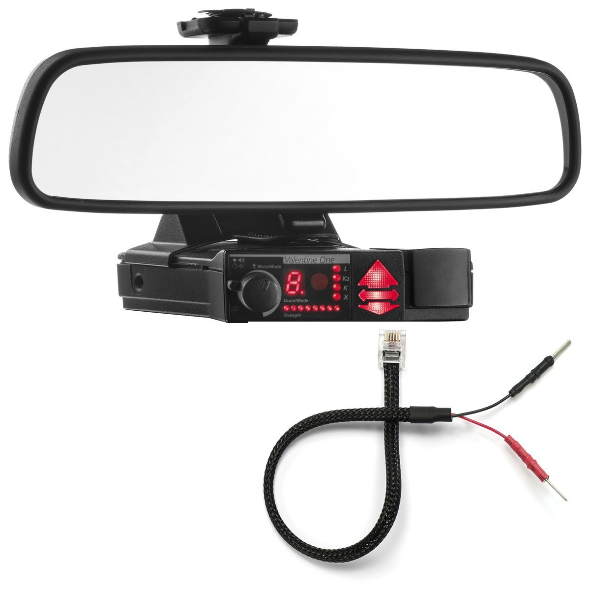 61VP7ggIVzL._SL1200_ amazon com radar mount mirror mount bracket mirror wire power  at webbmarketing.co
