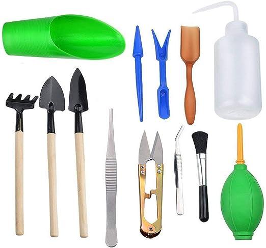 Lvcky Juego DE 13 Herramientas para Plantar en Miniatura ...