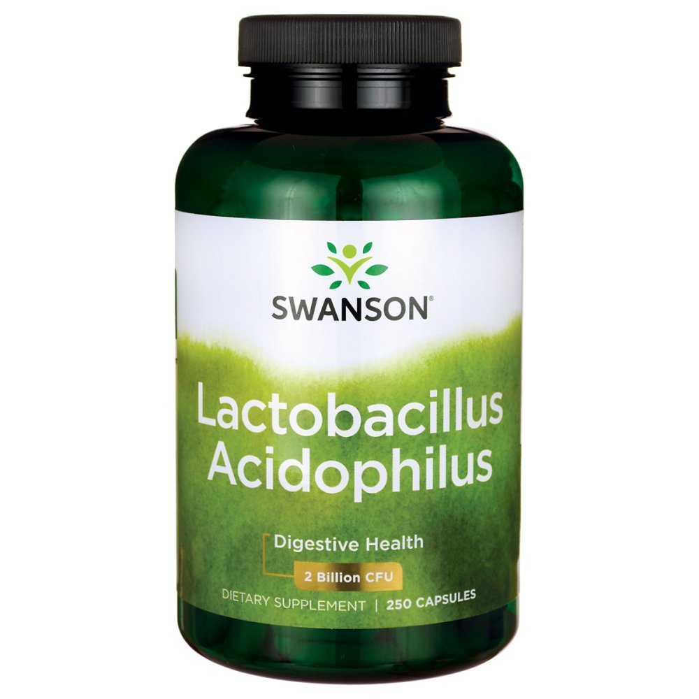 Swanson Acidophilus 2 Billion Cfu 250 Capsules