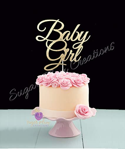 Amazon Com Baby Girl Cake Topper Arts Crafts Sewing