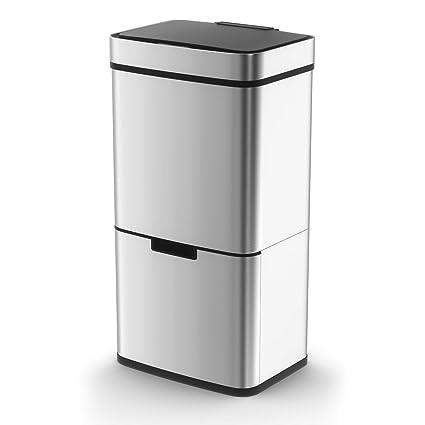 Morphy Richards - Cubo de Basura con Sensor con 2 ...