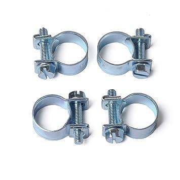 Ocamo 10pcs / Set 7-18MM Mini Abrazaderas de Manguera Línea ...