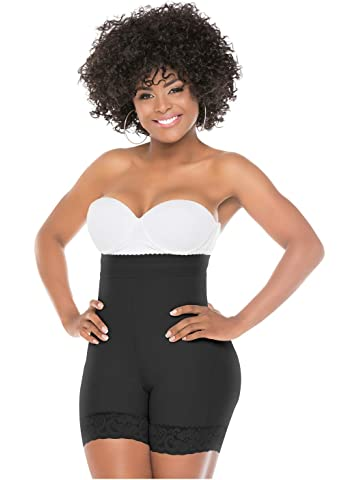 Fajas Salome 0218 High Waist Slimming Underwear Control Butt Lift BBL Shorts
