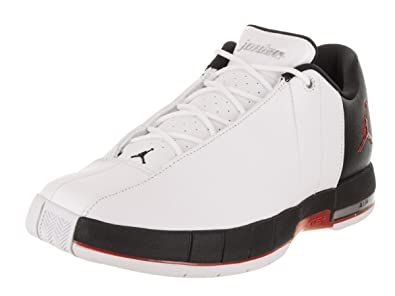 pretty nice fecd9 eff13 Image Unavailable. Image not available for. Color  Jordan AO1696-101  Team  Elite 2 Low Men s White Black-Gym Red