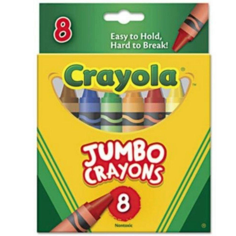 Crayola Jumbo Crayons - 8 ct Crayola Jumbo Crayons - 8 ct 520389 CYO520389