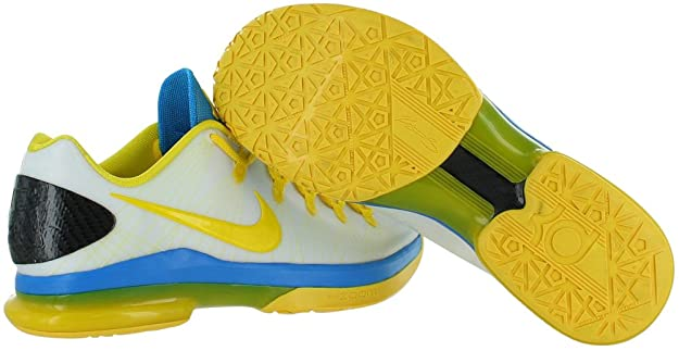 d49dab1127f Nike Men s KD V Elite Kevin Durant Shoes in Transparent Rubber and Yellow  and Blue Lenses 585386-100  Amazon.co.uk  Shoes   Bags