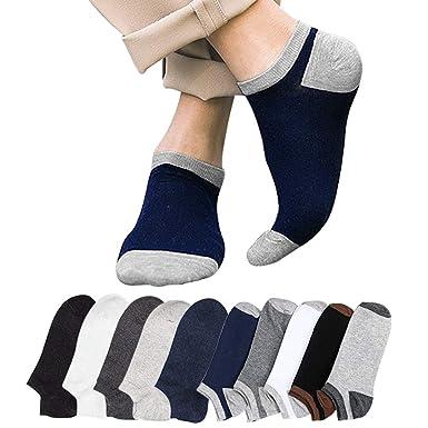 e593614f3ba9cc Amazon | ショートソックス Emoily 靴下 メンズ くるぶしソックス 10足セット スニーカーソックス 抗菌防臭 | フットカバー 通販