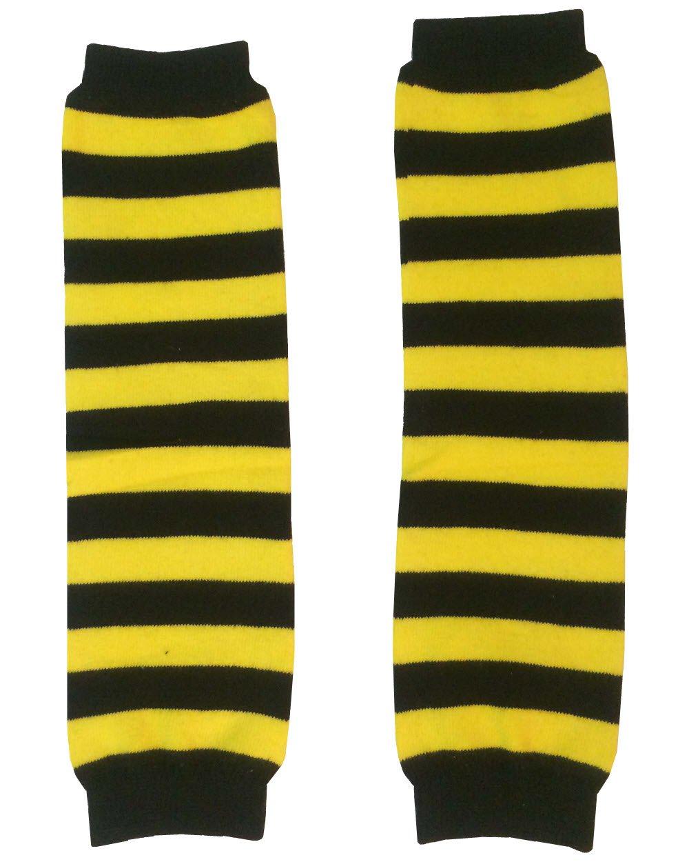 KWC - Yellow & Black Stripes Baby Leg Warmer/Leggings (Bee) Kam Wing Cheong