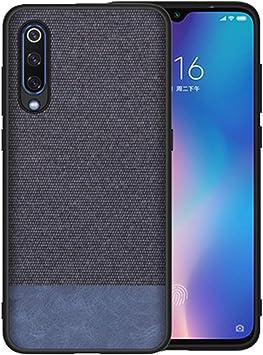 Compatible con Xiaomi Mi 9 Lite funda Xiaomi Mi9 SE/Mi 9, funda protectora ultrafina, antideslizante, antihuellas Xiaomi Mi9 Lite Azul y azul.: Amazon.es: Ropa y accesorios