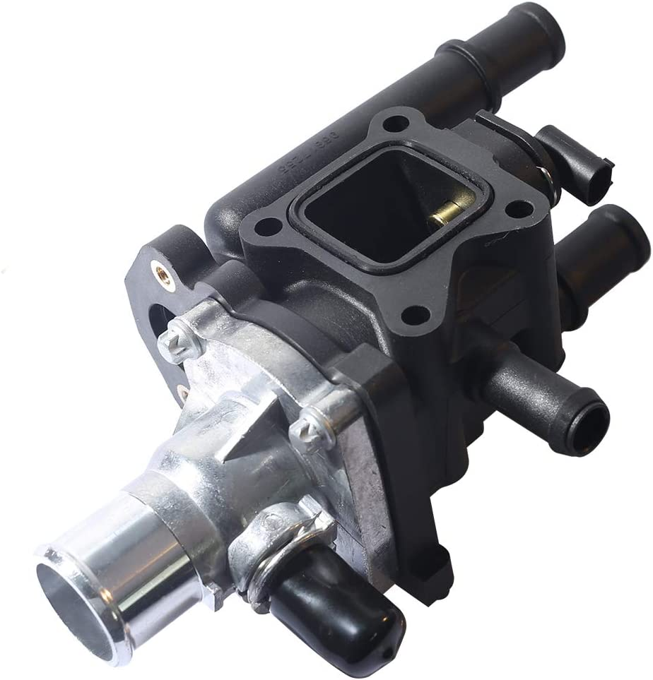 EXAUTOPONE Compatible with Engine Coolant Thermostat Housing Assembly Replacement for 25189437//96984102 96980317//15-81766//25192228
