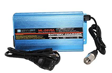 Mighty Max Battery 24V 5A Jet Jazzy Power Chair Scooter Heavy Duty Battery Charger brand product  sc 1 st  Amazon.com & Amazon.com : Mighty Max Battery 24V 5A Jet Jazzy Power Chair Scooter ...