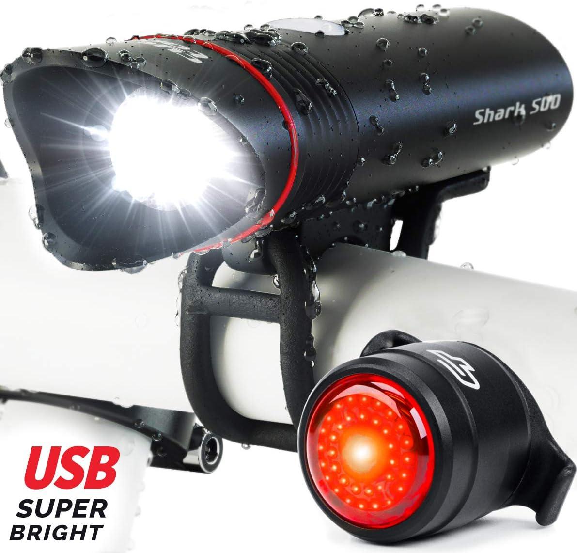 Cycle Torch Shark Bike Light