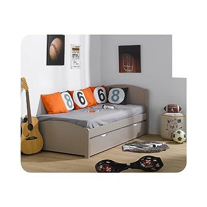Pack cama nido Nature lino 90 x 200 cm con 2 colchones